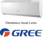 Climatiseur mural Gree Lomo