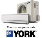 Thermopompe murale York