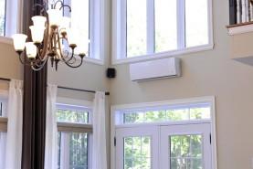 Il faut privilégier une pièce à aire ouverte pour l'installation d'un climatiseur.