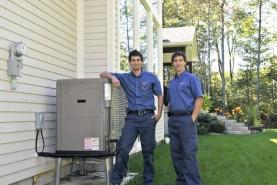 Que soit pour une maison existante ou pour une construction neuve. Une thermopompe peut s'ajouter à un système à air chaud.