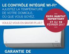 Une nouvelle thermopompe Fujitsu voit le jour!